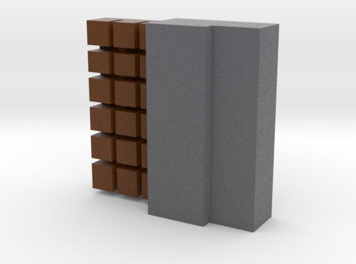 Block Of Chocolate 3d printed