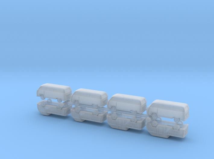 VW Bus Type 2 1/285 6mm 3d printed
