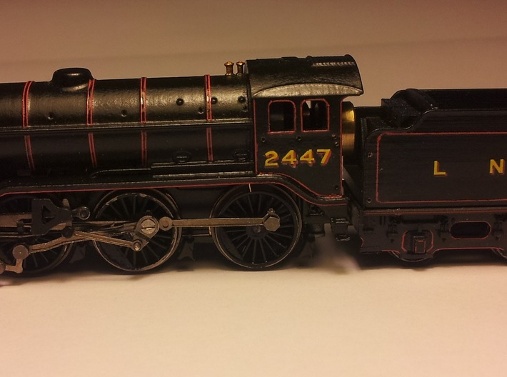 LNER K3 and GST Body Shell 3d printed Painted body on modified Farish V2 chassis
