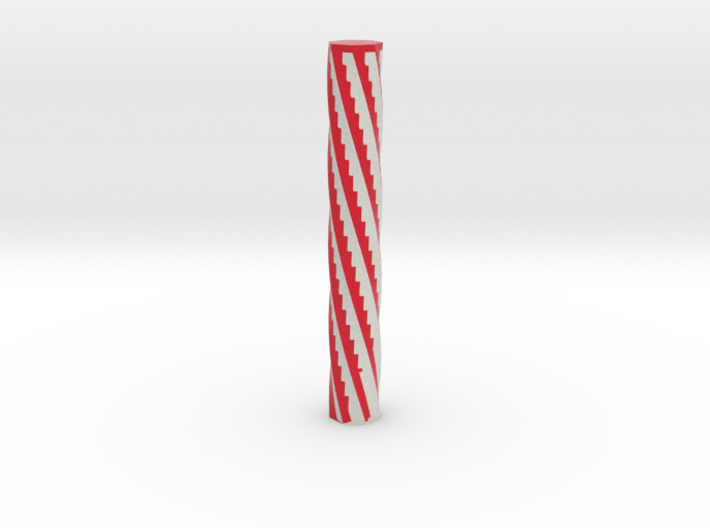 Candy Cane 3d printed