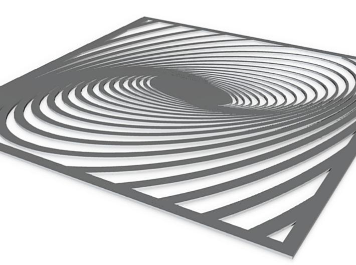 illusion no base 3d printed