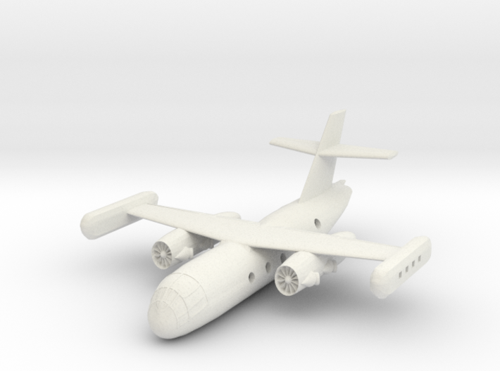 1/300 Dornier Do 31 VTOL Transport 3d printed