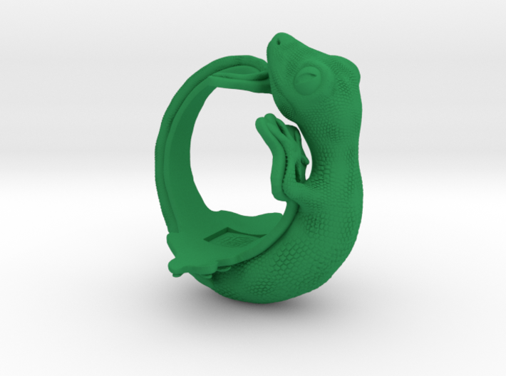 Gecko Size7 3d printed