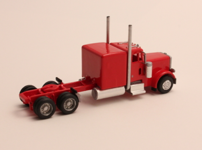 "1:160 N Scale Peterbilt 379 with 63"" Sleeper 3d printed"