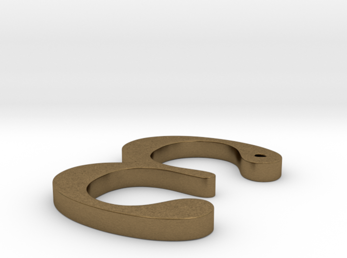 "The Greek Letter ""Epsilon"" 3d printed"
