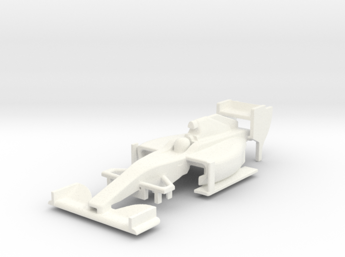 HO F1 2014 Slot Car Body 3d printed