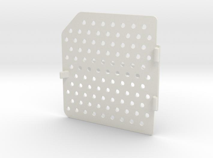 Wave Wash Lid V2.1 3d printed