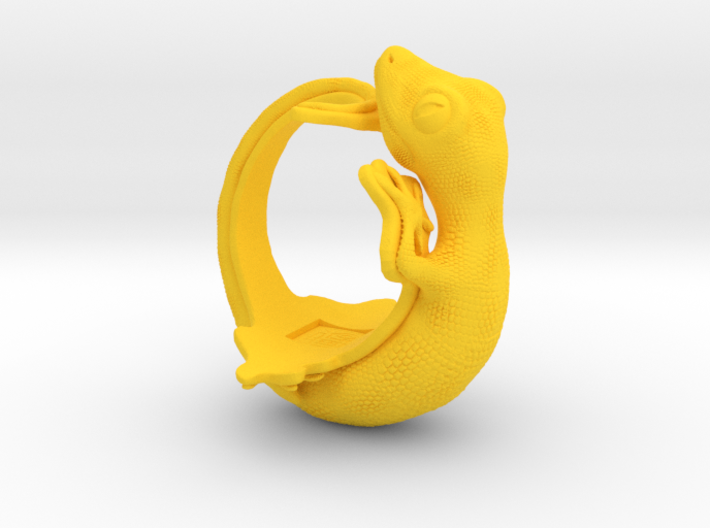 Gecko Size9 3d printed
