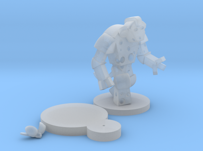 Cheese Golem & Ladybug - Mice & Mystics 3d printed