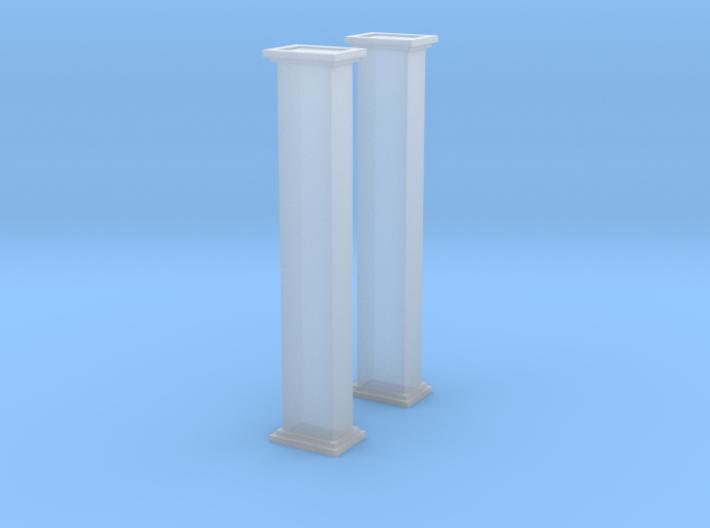 'N Scale' - Bucket Elevator-10' - Casing 3d printed