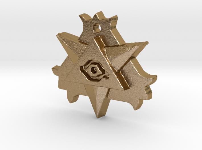 Hellboy Resurrection Amulet Necklace Replica Prop 3d printed