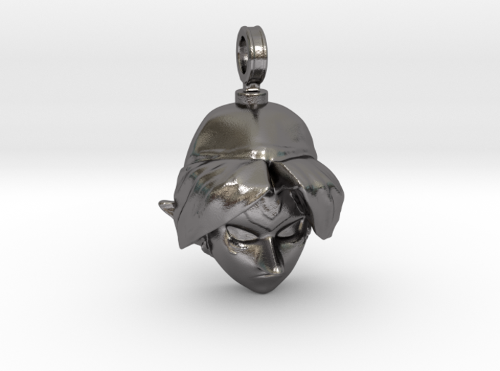LoZ: Majora's Mask - Fierce Deity Mask Charm 3d printed