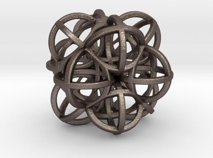 Octa Sphere G47 75mm 3d printed