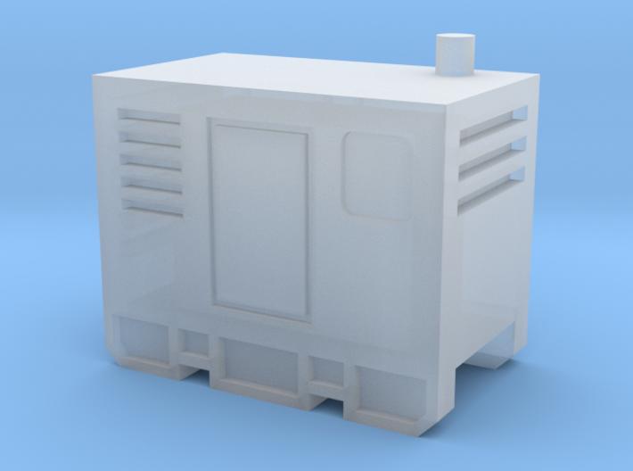 N Scale Mobile Diesel Generator 3d printed