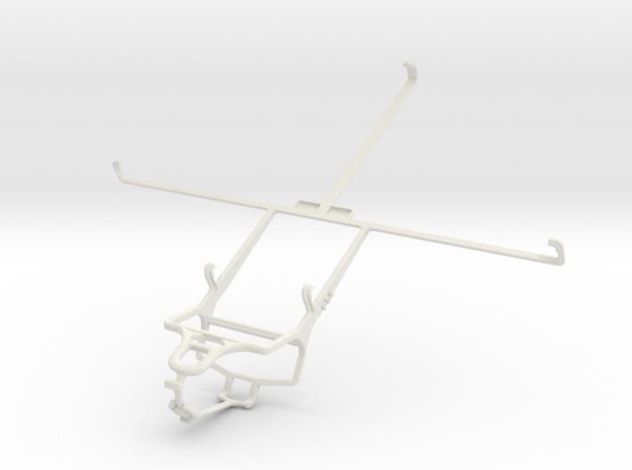 Controller mount for PS4 & Prestigio MultiPad 10.1 3d printed