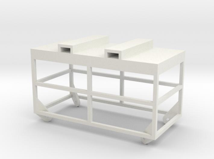 Manbasket 1/50 for crane 3d printed