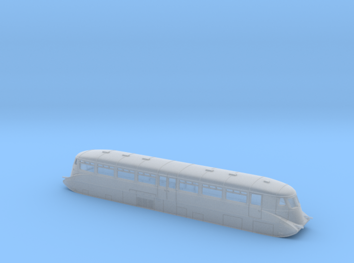 GWR Railcar #1 - N - 1:148 3d printed