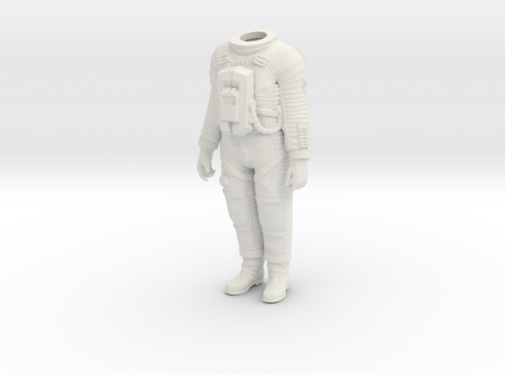 2001 Lunar Astronaut / Pos. 1 / 1:24 3d printed