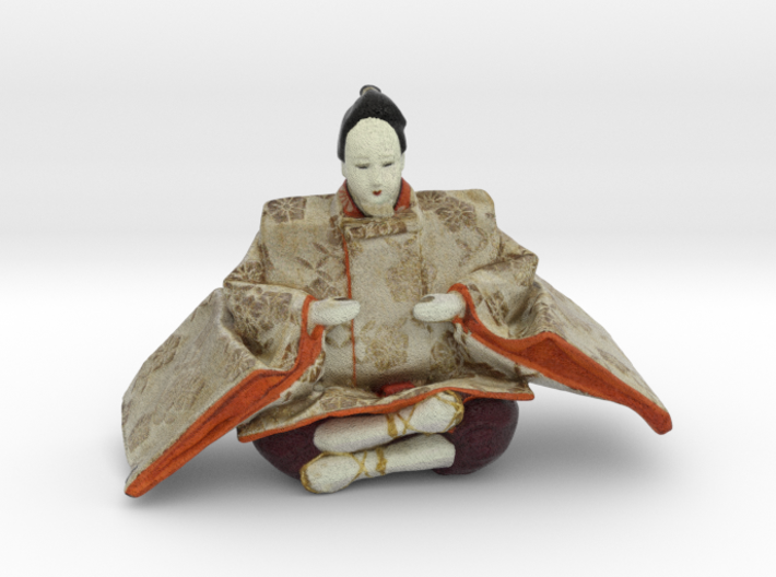 The Japanese Hina Doll-6 3d printed