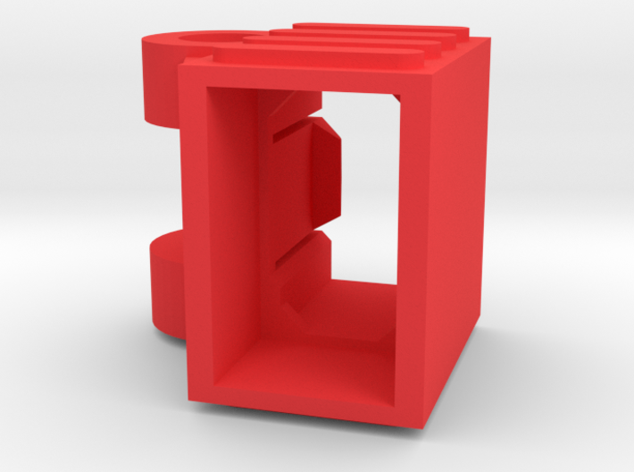 Deans Plug Holder Vertical  3d printed