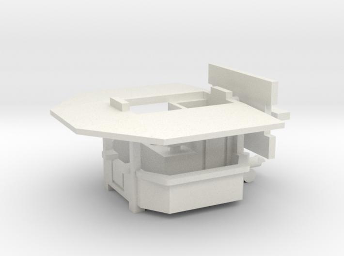 Ausschankwagen 1 - 1:220 (Z scale) 3d printed