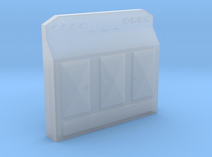 1/87th HO Scale Cabinet Headache Rack 1 3d printed