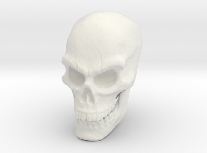 Pirate Skull 3d printed