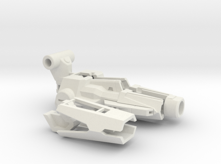 Sledgehammer Cannon 3d printed
