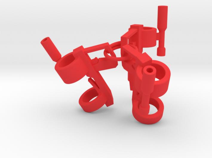 """The """"Nuke-m"""" Pencil Bazooka 3d printed"""