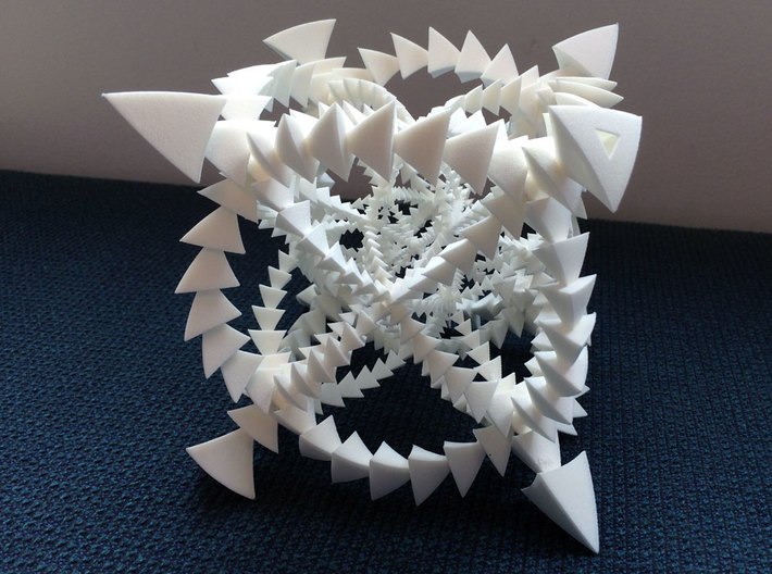 Tetrahedron Rotations in S^3: 24-cell 3d printed