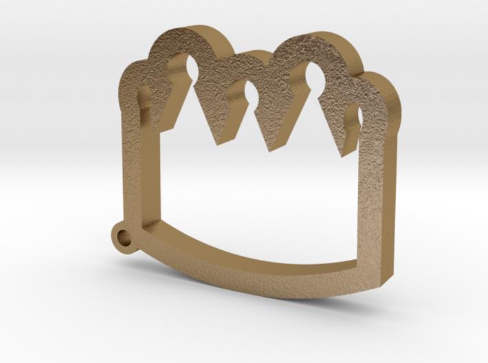 Crown Emoji Keychain/Pendant 3d printed