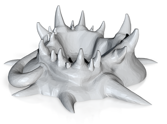 Zerg Ashtray 3d printed