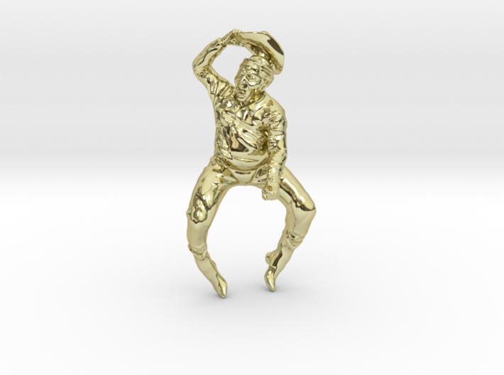 Cowboy Ring 3d printed