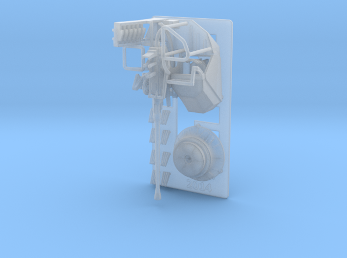 Bofors MKVII 1/128 3d printed