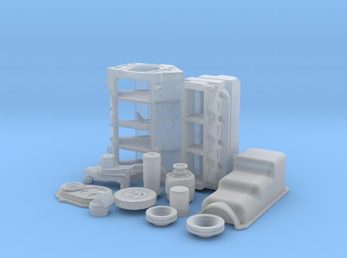 1/25 BBC Basic Block For Mech Fuel Pump 3d printed