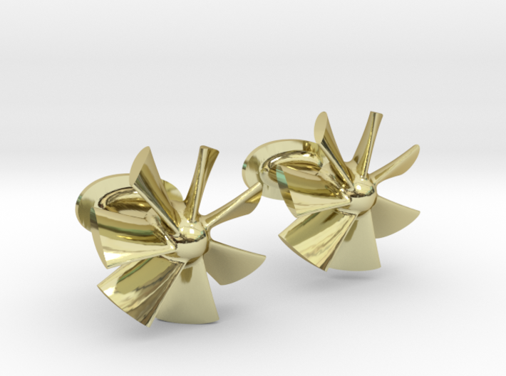 Style Fans Cufflinks 3d printed