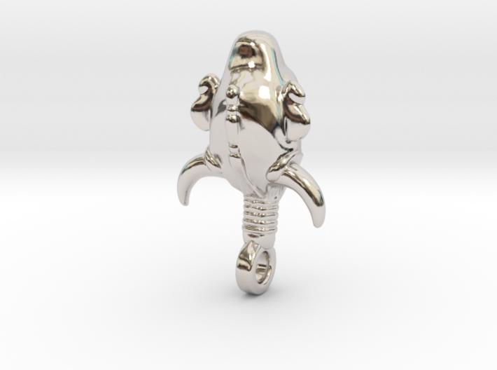 SUPERNATURAL Amulet 3.5cm 3d printed