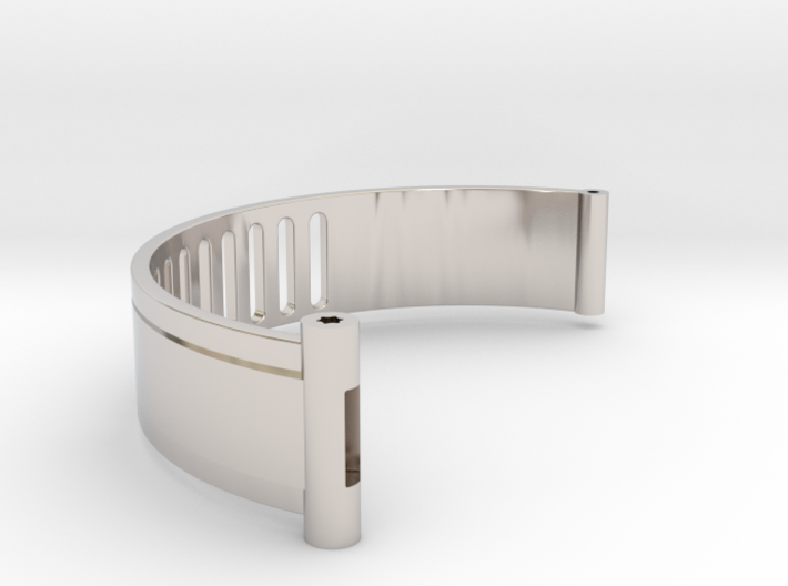 The Island ID Bracelet Bottom Replica Prop 3d printed