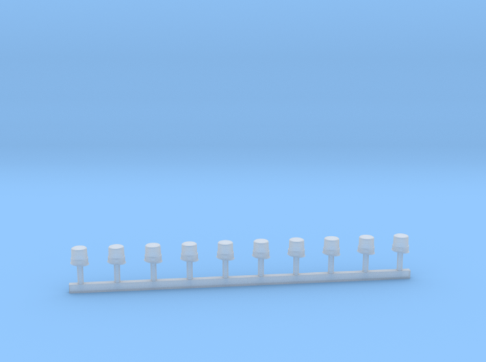 Hänsch Nova In LED-Technik mit Gummikeil 1:43 3d printed
