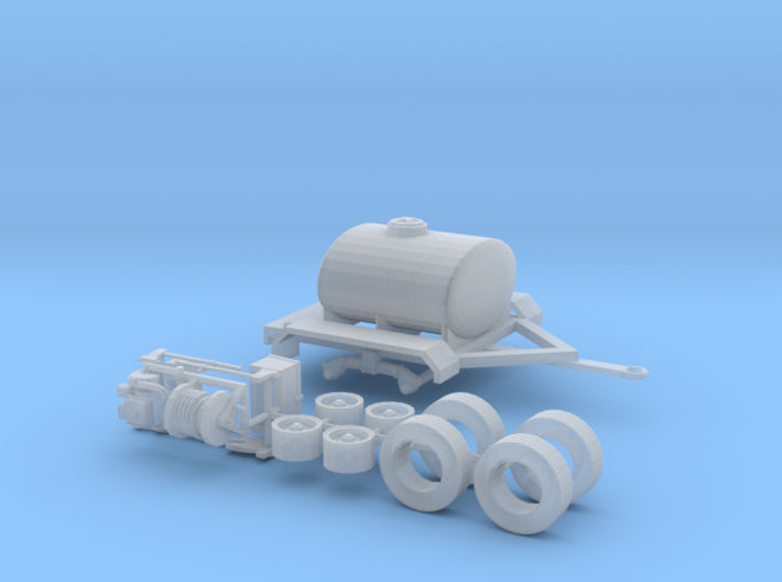 1/64th Water Tender, Fire Support, Fertilizer Tank 3d printed