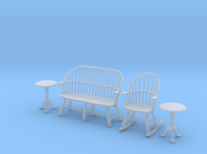 1:48 Windsor Sitting Room Set 3d printed