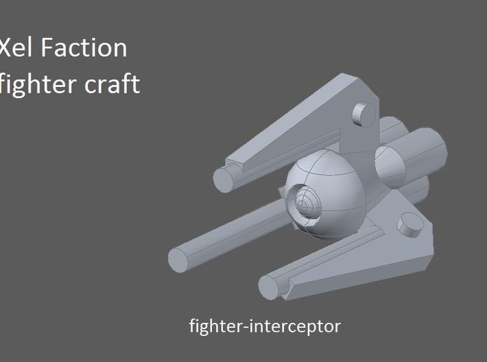 10 Xel fighters 3d printed faction preview