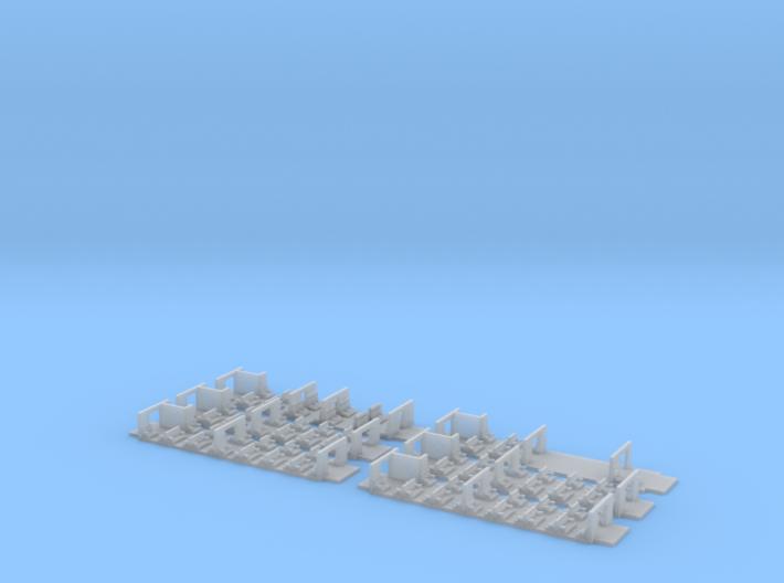 Umbauwagen 3yg 4x B + 1x AB + 1x BD 3d printed