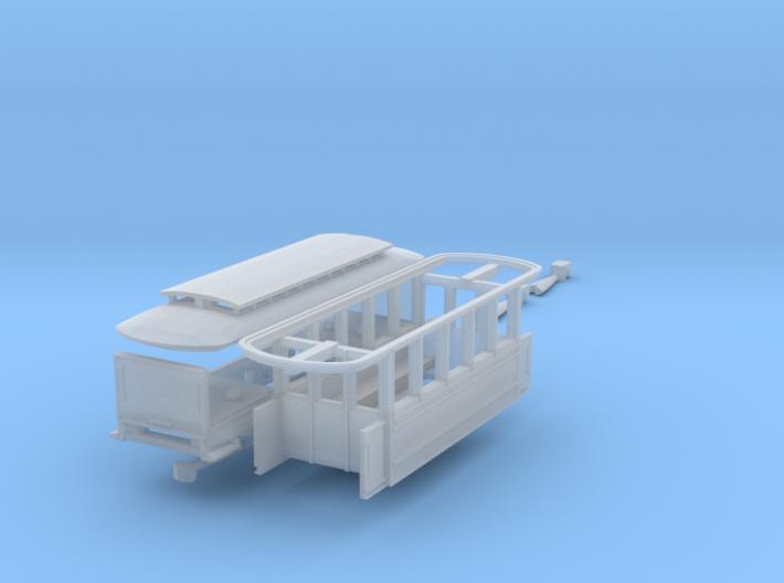 Anhängerwagen C2 (Nm 1:160) 3d printed