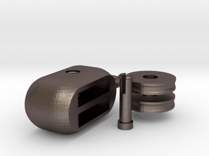 hoist pulley block ( assembling ) 3d printed