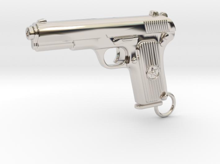 Tokarev Gun 3d printed