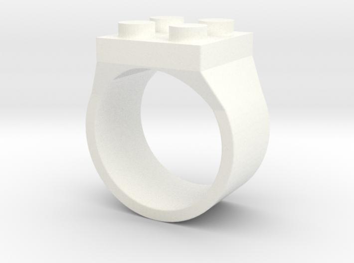 Brick Ring 4 Stud Type III 3d printed