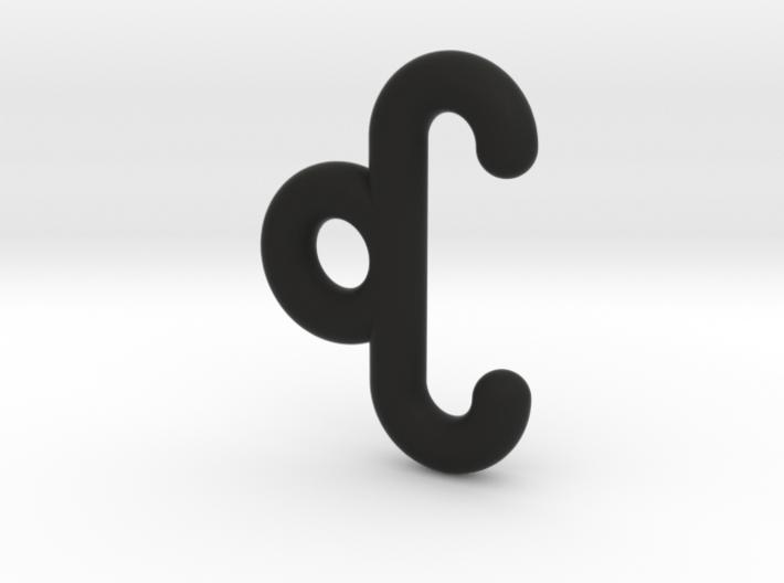 Loop for Moebius Band 1 cm 3d printed