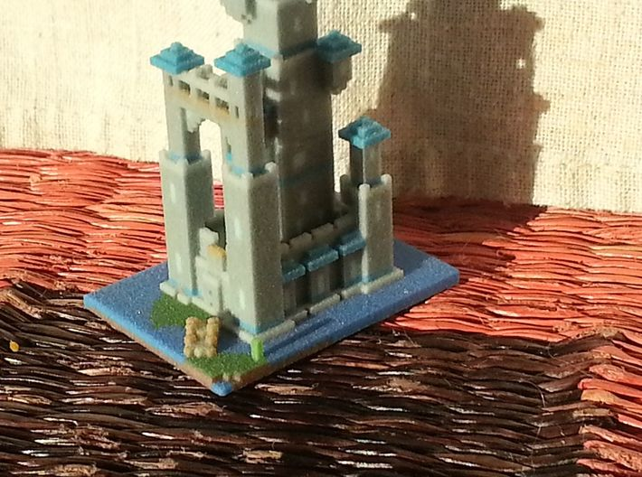 Toadstool Tower Tiny 1 mm 3d printed