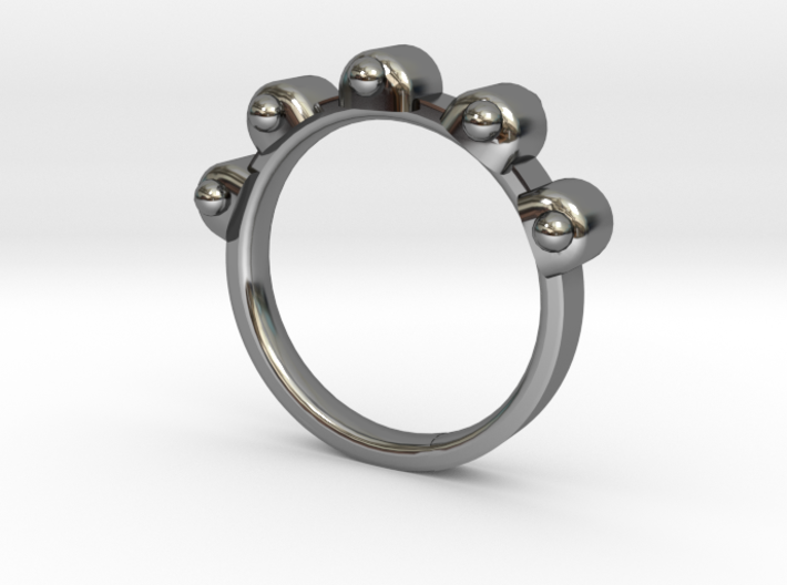 Jester Ring - Sz. 9 3d printed